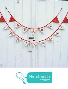 Merry Christmas Pennant Banner from Life Scooped https://www.amazon.com/dp/B01L7FTNOU/ref=hnd_sw_r_pi_dp_iKoaybV8MZZVW #handmadeatamazon