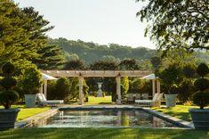 Pool and Loggia, Italian Country Villa.
