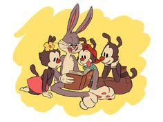 Animaniacs: The Warner Uncle by Retrograde-Entropy.deviantart.com on @DeviantArt