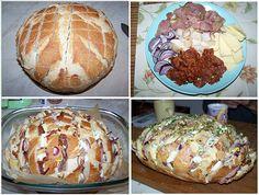 Isteni, minden jóval töltött kenyér