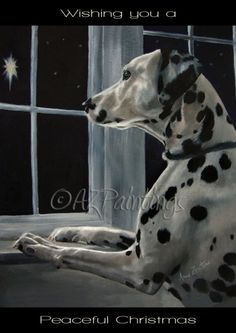 Silent Night Christmas , painting by artist Anne Zoutsos
