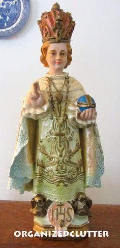 The Infant of Prague - Vintage Religious Figurines