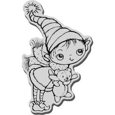 Honestly, how could you say no to this Stampendous Christmas Cling Rubber Stamp? Your Christmas wrapping and decorating will become noticeably more fun when you include this stamp in the mix. Have fun and create Christmas crafts that you'll love making. $4.84