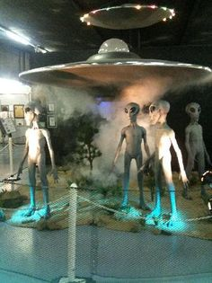 UFO museum.... How awesome is this!