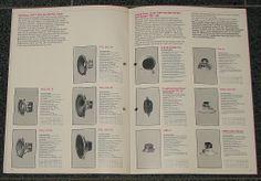 Vintage Isophon Speaker Catalog