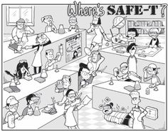 TOUCH this image: SCIENCE LAB SAFETY by Ann Marie Carrier