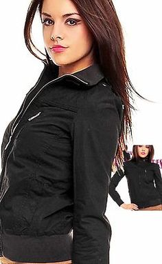 Fresh Made Damen Jacke  Sommerjacke schwarz Neu  Gr.XL/42 (€ 44,90)