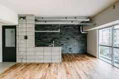 × toolbox コラボレーション企画   WORKS   大阪・神戸・沖縄でリノベーションならアートアンドクラフトへ! Tool Box, Alcove, Bathtub, Bathroom, Standing Bath, Washroom, Dopp Kit, Toolbox, Bathtubs