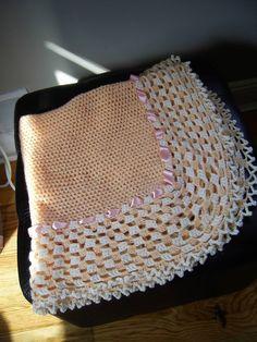 Perfect baby gift  Crochet baby blanket by inspirebynancy on Etsy, $60.00