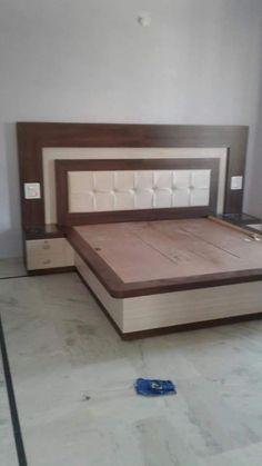 Living Room Tv Unit Designs, Bedroom Cupboard Designs, Wardrobe Design Bedroom, Room Design Bedroom, Bedroom Furniture Design, Bed Furniture, Simple Bed Designs, New Bed Designs, Bed Designs With Storage