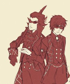 Victorian style! Dirk and Dave
