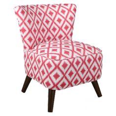 Custom Upholstered Armless Chair