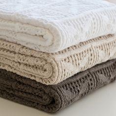 Crochet Knit baby Blankets