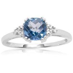 10k White or Yellow Gold, December Birthstone, Blue Topaz and Diamond Ring  http://www.amazon.com/gp/product/B000YJ0SS6/ref=as_li_ss_tl?ie=UTF8=1789=390957=B000YJ0SS6=as2=wonderfulrota-20