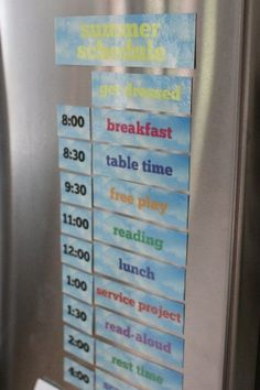 Printable Summer Schedule For Kids - I Can Teach My Child! - - Organize your summer days with this printable summer daily schedule. Activities are interchangeable, making it customizable for every family! Kids Summer Schedule, Daily Schedule Kids, Toddler Schedule, School Schedule, Summer Activities For Kids, Summer Kids, Kids Schedule Chart, Daily Schedules, Daily Routines