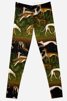 Greyhound/whippet leggings! <3