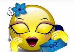 You make me blush Funny Emoticons, Smileys, Emoji Love, Smiley Emoji, Emoji Wallpaper, Face Off, Smile Face, Pretty Face, Tweety