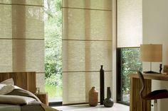 sideways seams for full width window coverage