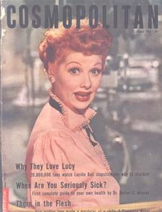 LUCY COVER MAGAZINES