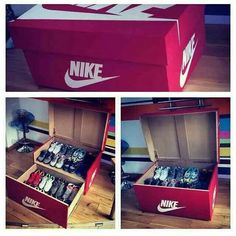 Perfect storage Nike AM box
