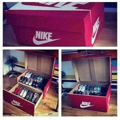 Perfect storage Nike AM box