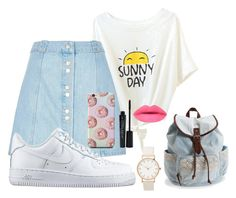"""""""Untitled #5"""" by robertipox on Polyvore featuring beauty, River Island, NIKE, Aéropostale and Smashbox"""