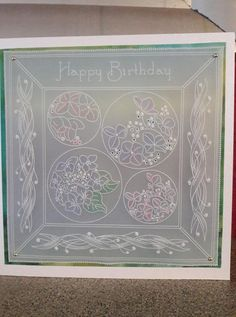 Parchment Cards, Decorative Boxes, Birthdays, Card Making, Paper Crafts, Stamp, Type 3, Clarity, Floral