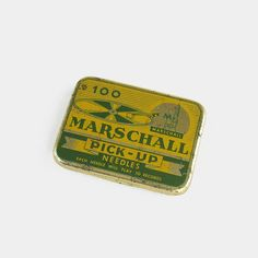 Vintage Marschall Gramophone Pick-Up Needle by EnglishCountryHome