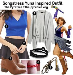 The Pyreflies / Everyday Cosplay: Songstress Yuna Inspired Outfit (Final Fantasy X-2)