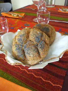 pane biologico casalingo con semi di papavero