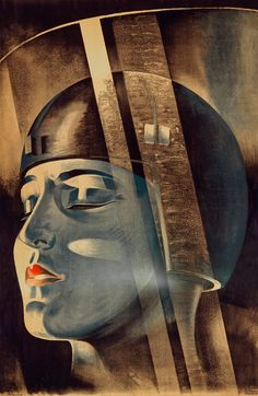 Metropolis Film Poster. #vintage #movies #film #scifi