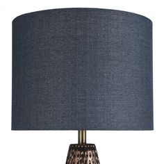 StyleCraft Bedford Blue and Copper Table Lamp - Blue Shade - Overstock - 22302962 Gold Couch, Copper Table Lamp, Copper Frame, Textures And Tones, Lamp Shade Store, Transitional Wall Sconces, Steel Table, Cool Floor Lamps, Blue And Copper