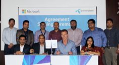 Microsoft Mobile Deceives & services (MMDS) Bangladesh & Grameenphone Limited have Agreed to Work Together as A Strategic alliance to Provide an Integrated solution to the Consumers. It will allow the Providers to offer the Complete Telecommunication solution for the Individuals as well as Corporate.