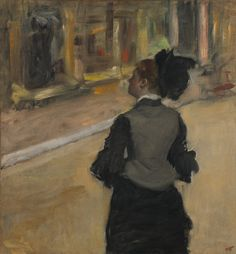 Edgar Degas,  Woman Viewed from Behind,  Collection of Mr. and Mrs. Paul Mellon, National Gallery of Art, Washington D.C.