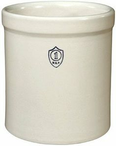 "Ohio Stoneware 1GC Crock 7-34/""x8-1/4"" - 1 Gallon by OHIO STONEWARE. $24.95. Crocks are food safe and lead free. 100% American made. 7-34/"" dia x 8-1/4"" H. 1 gallon. ""OHIO STONEWARE"" CROCK. ""OHIO STONEWARE"" CROCK   * 1 gallon  * 7-34/"" dia x 8-1/4"" H  * Has many uses - from the traditional food preservation use to decorative storage and common houseware uses  * Crocks are food safe and lead free  * 100% American made  * Boxed"