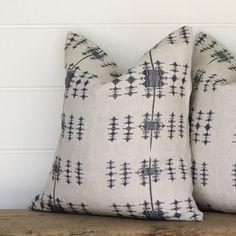 Handblocked print tribal Pillows | JuxtaPosition