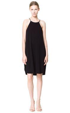 HALTER NECK DRESS - Dresses - Woman   ZARA Canada