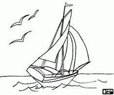 Ruderboot malvorlage  malvorlagen Vier kleine Ruderboote ausmalbilder | Visualize ...