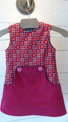 The Louisa Dress sewing pattern for girls Baby Girl Frocks, Kids Frocks, Frocks For Girls, Little Girl Dresses, Toddler Dress, Baby Dress, Kids Dress Wear, Girl Dress Patterns, Frock Design