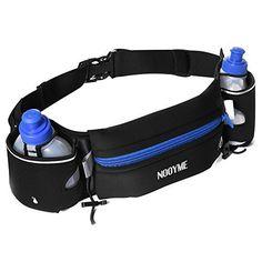 Kingoya Hydration Running Belt with 6 oz Leak Proof Water Bottles - http://www.exercisejoy.com/kingoya-hydration-running-belt-with-6-oz-leak-proof-water-bottles/fitness/