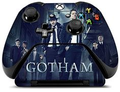 Controller Gear WB Gotham Cast Alley  Xbox One Skin Set for Controller and Controller Stand ** To view further for this item, visit the image link.Note:It is affiliate link to Amazon.