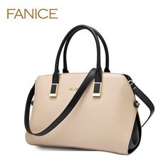 526eb56b0887 Fanice Women s shoulder bag Genuine Leather cowhide 2014 the trend handbag  messenger bag office handbag