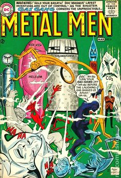 Metal Men (1963 1st Series) #6