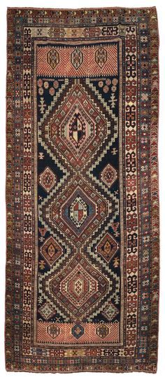 A shirvan Kuba long rug late 19th early 20th century.Good condition. from cambi casa d'este