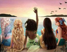 - Disney Princess Hawaiian Vacation Disney Princess Hawaiian Vacation Informations Abo - Cute Disney Drawings, Disney Princess Drawings, Disney Princess Pictures, Disney Princess Art, Disney Fan Art, Disney Pictures, Princess Rapunzel, Drawing Disney, Disney Rapunzel