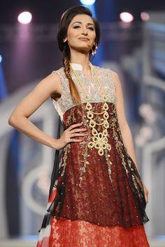 Amna Ajmal Collection at Pantene Bridal Couture Week 2013 Day 1