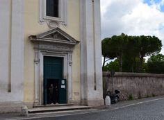 Church of Domine Quo Vadis, Appian Way Rome