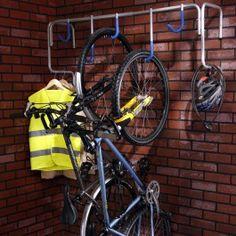 Accroche-vélos mural