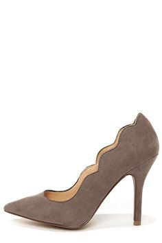 Scalloped pumps - s  curves