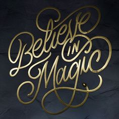 Typeverything.com - Believe in Magic by Faust New York.